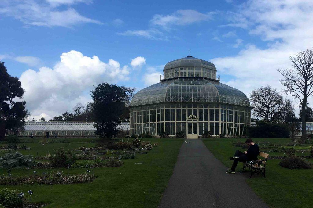 O Jardim Botânico conta com várias estufas de estilo vitoriano