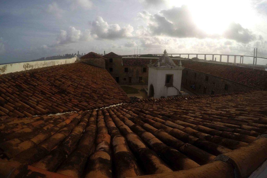 Vista das muralhas do Forte