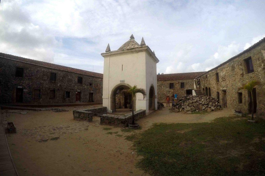 A capela do Forte
